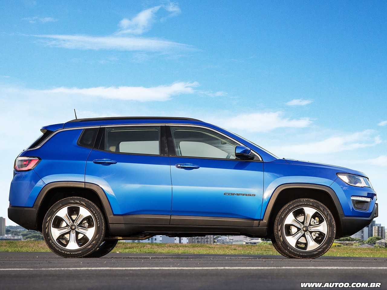 JeepCompass 2017 - lateral