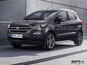 Novo Ford EcoSport será revelado nos EUA