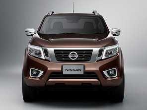 Nova Nissan Frontier deverá ter uma versão SUV