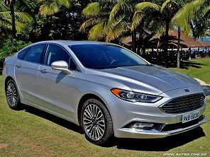 Ford Fusion 2017 reestilizado tenta conter Civic Touring