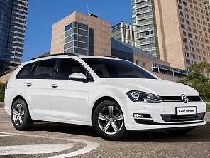 Volkswagen Golf Variant vira flex na linha 2017