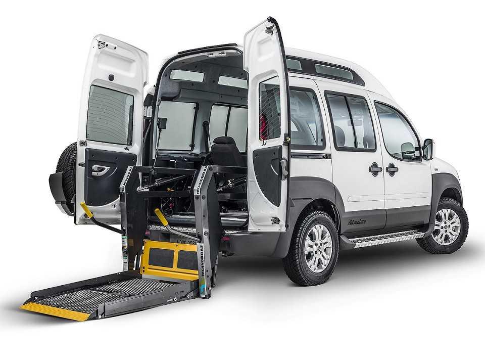 Carro adaptado para deficientes