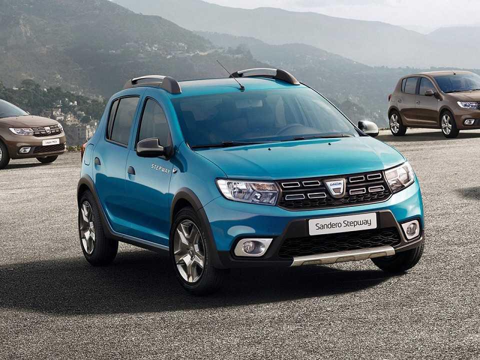 Dacia Sandero Stepway com o facelift que será revelado neste ano no Salão de Paris
