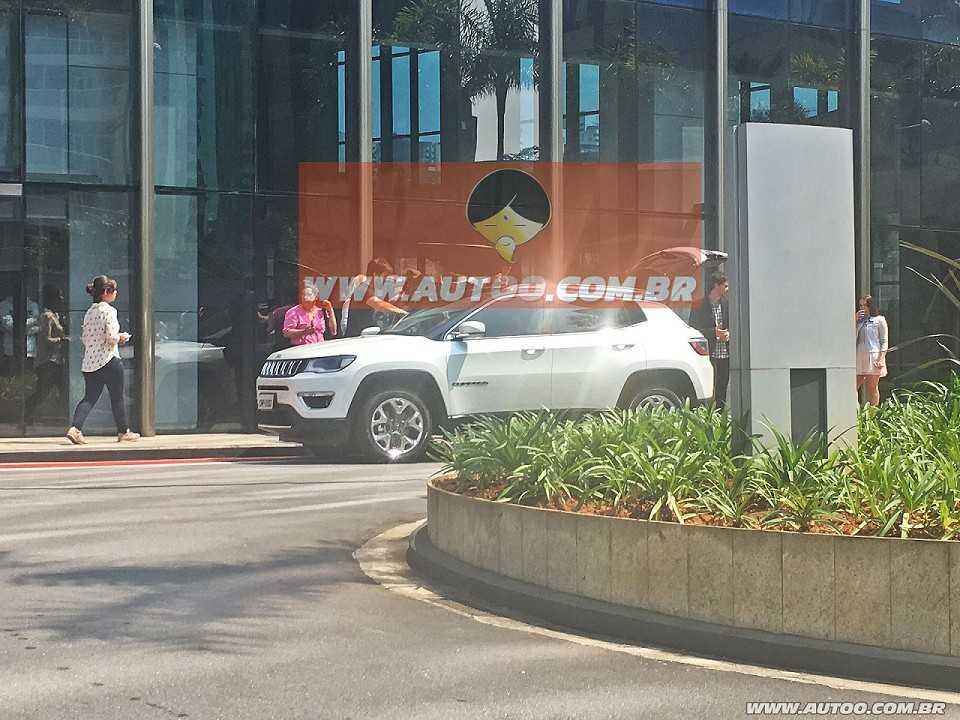 JeepCompass 2017 - ângulo frontal