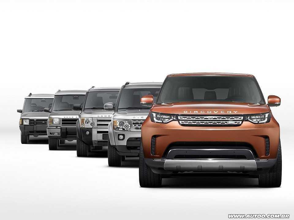 Land RoverDiscovery 2017 - outros