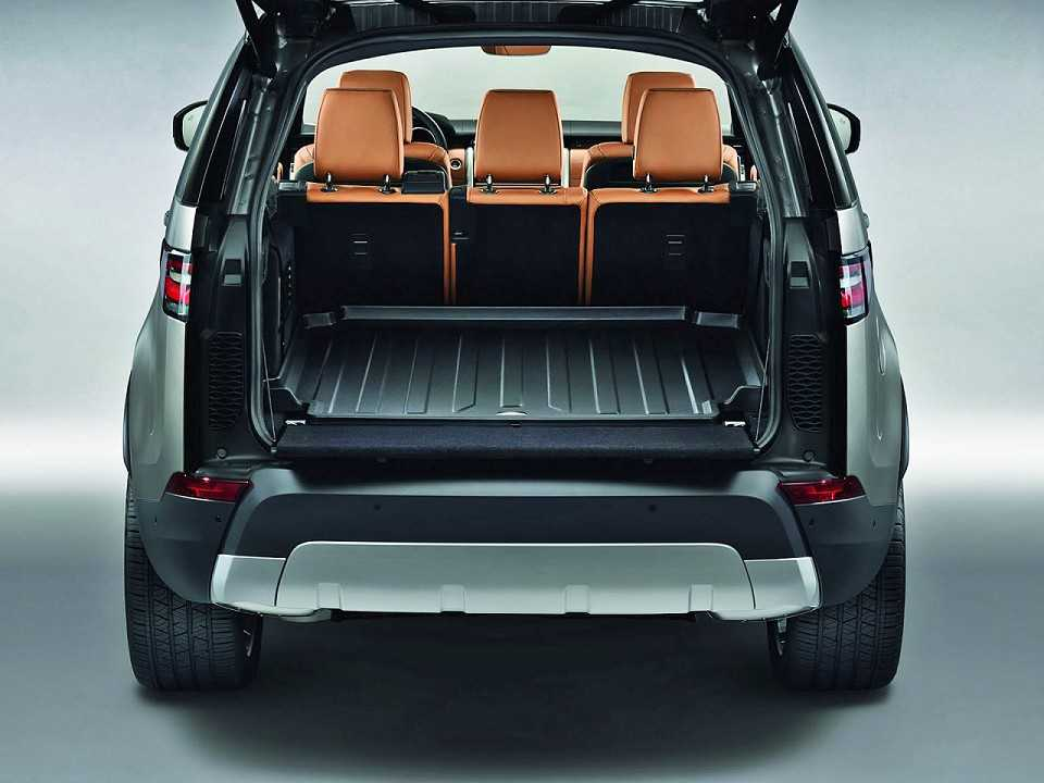Land RoverDiscovery 2018 - porta-malas