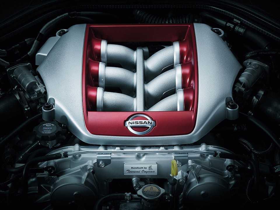 NissanGT-R 2017 - motor