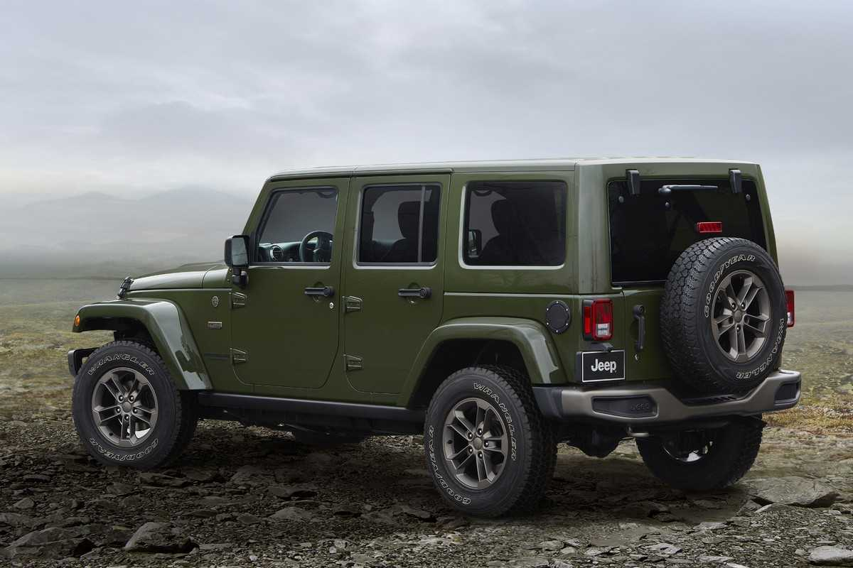 Jeep Wrangler 75th Anniversary Edition