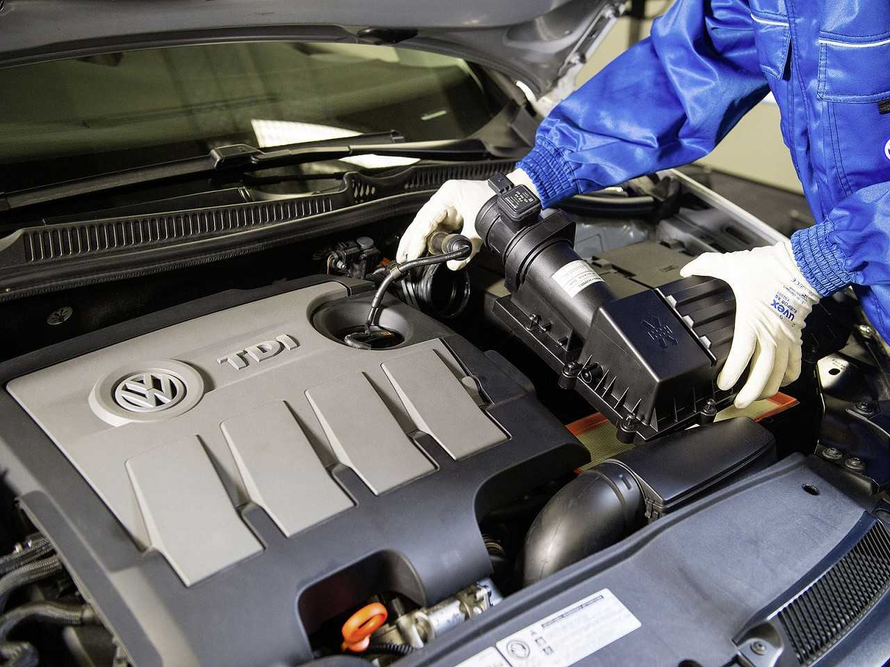 Motor a diesel da Volkswagen afetado pelo dieselgate