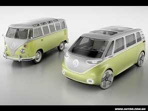VW mostra o I.D. Buzz, a Kombi do século XXI