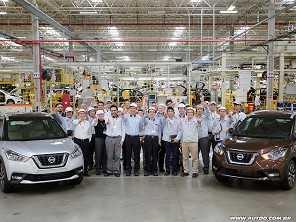 Nissan Kicks começa a ser produzido, ainda em teste, no Brasil
