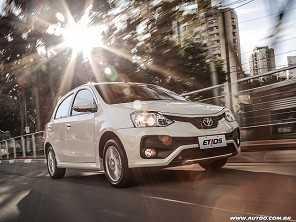 Oficial: Toyota Etios sai de linha no país em abril