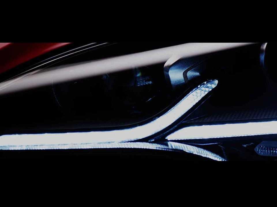 Teaser mostrando os primeiros detalhes do projeto The Curve Ahead da Kia