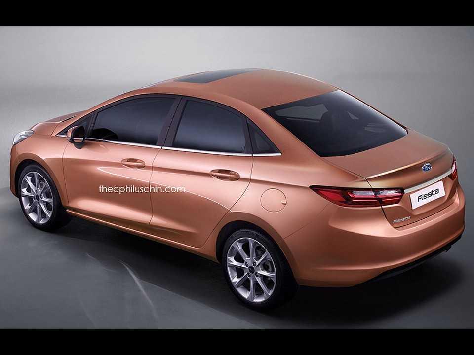 Sedan Vs Hatchback >> Como será o Ford Fiesta Sedan 2018 - AUTOO