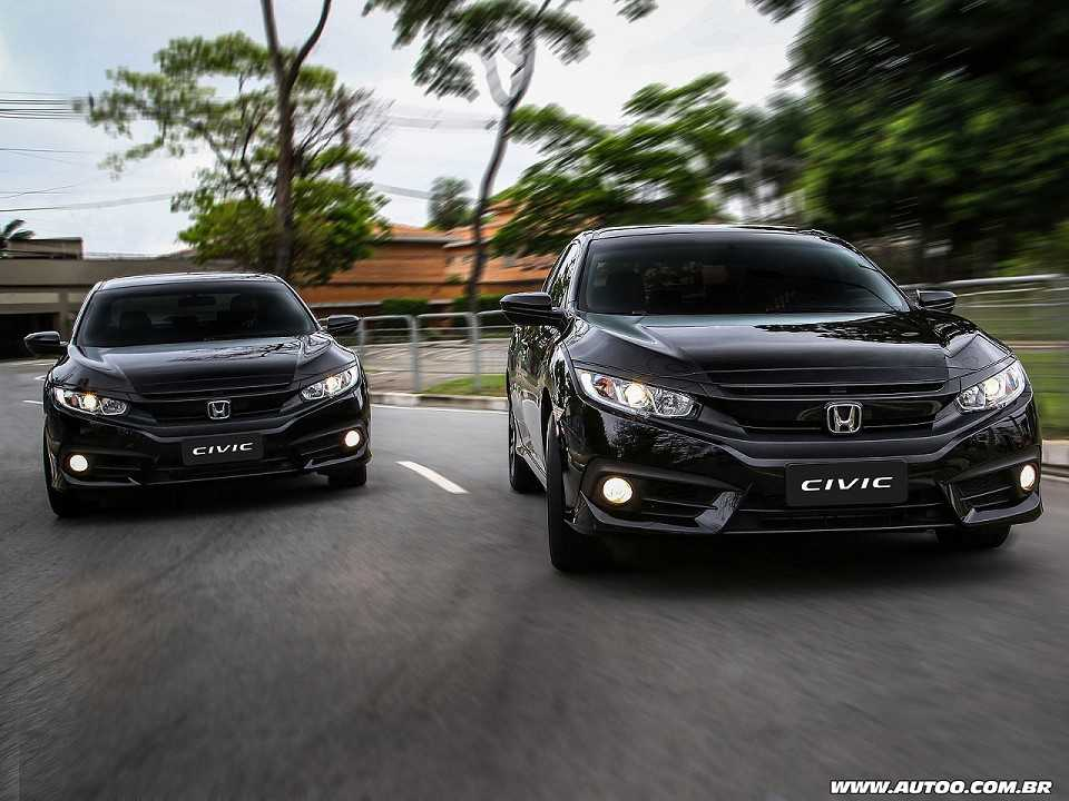 Honda Civic fica mais caro, mas ainda está mais em conta que o Toyota Corolla – AUTOO
