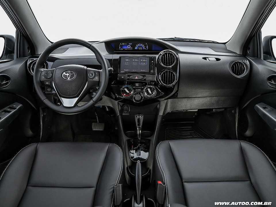 ToyotaEtios 2018 - painel
