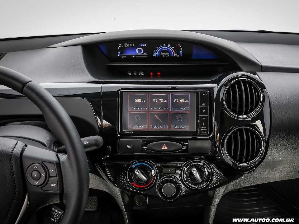 ToyotaEtios 2018 - console central