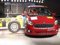 Ensaio do Latin NCAP avaliando o Ford Ka