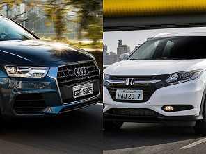 Um Audi Q3 2013 ou um Honda HR-V 2016?