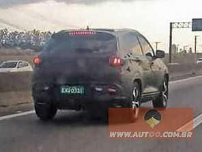 Novo SUV da Chery, Tiggo 7 chegará ao Brasil ainda em 2017