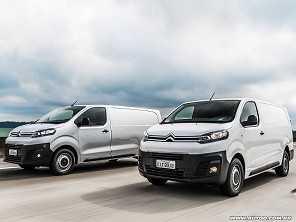 Vendidos no Brasil, Peugeot Expert e Citroën Jumpy terão opção elétrica na Europa