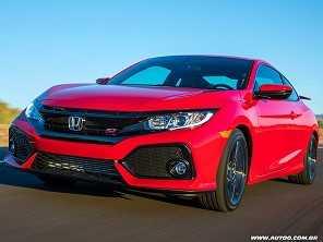 Nova geração do Honda Civic Si chega ao Brasil em 2018