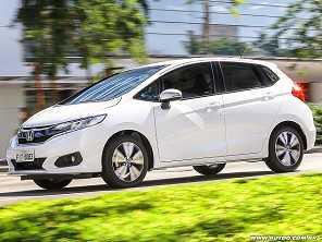 Teste: Honda Fit EX 2018