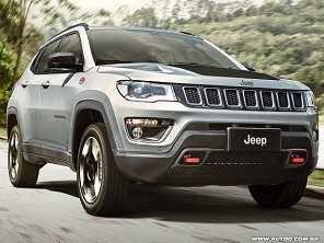 Jeep Compass é o SUV mais vendido do Brasil em setembro