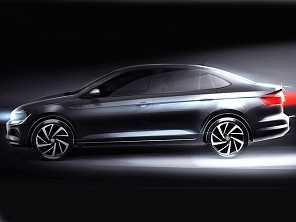 Volkswagen Virtus tem primeira imagem revelada