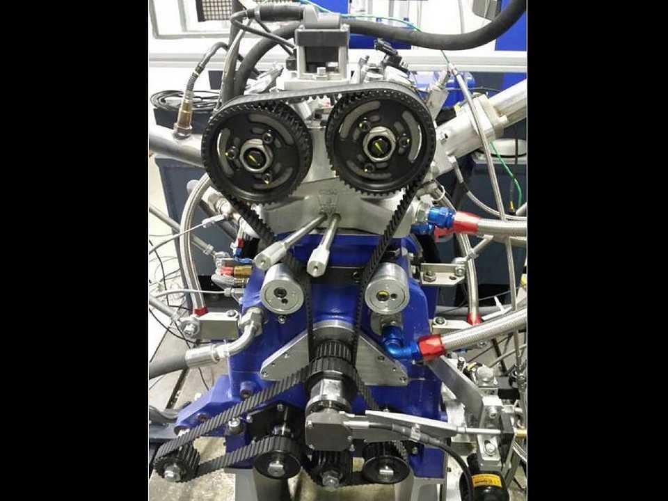 Acima o motor 1.0 de 185 cv desenvolvido pelos pesquisadores da UFMG