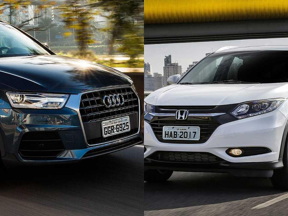 Audi Q3 e Honda HR-V