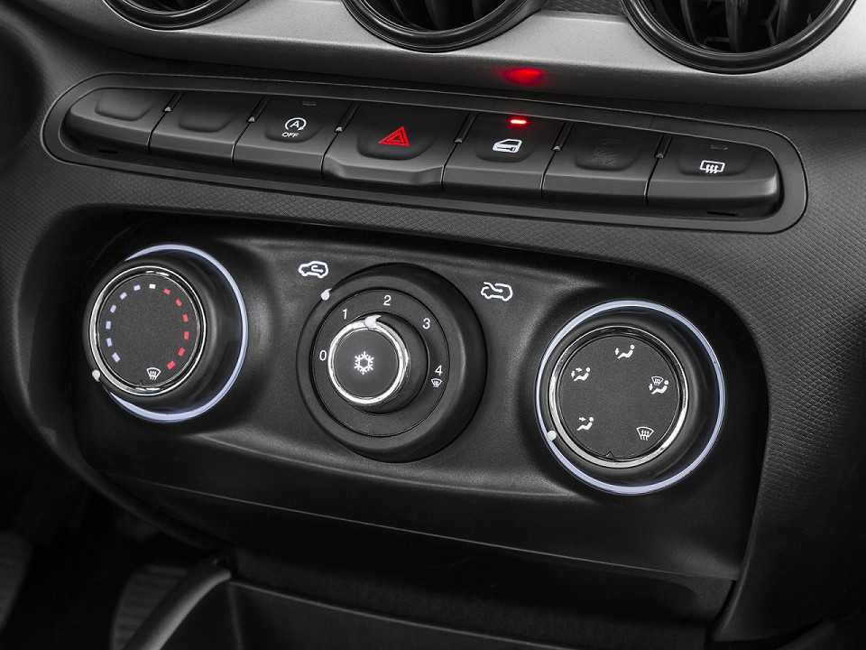 FiatArgo 2018 - console central