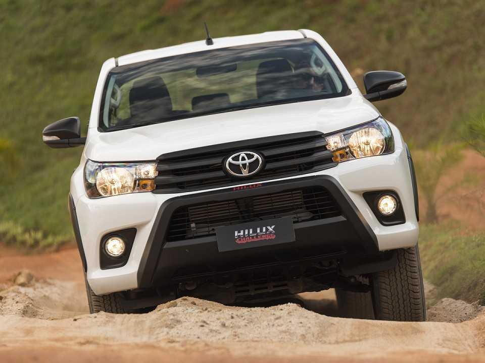ToyotaHilux 2018 - frente