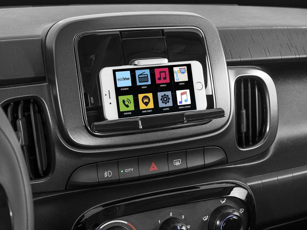 FiatMobi 2018 - console central