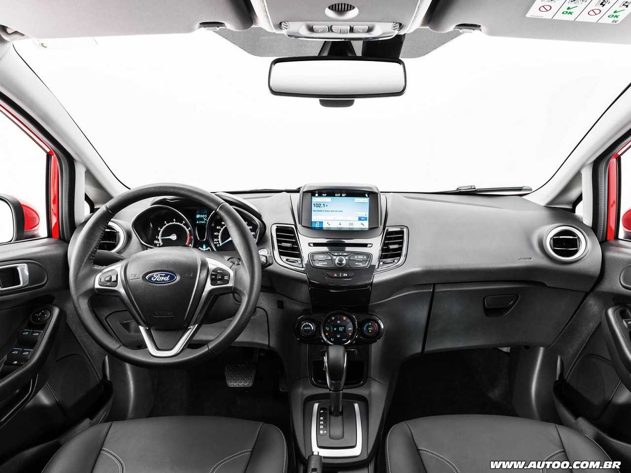 Ford Fiesta 2018 - painel