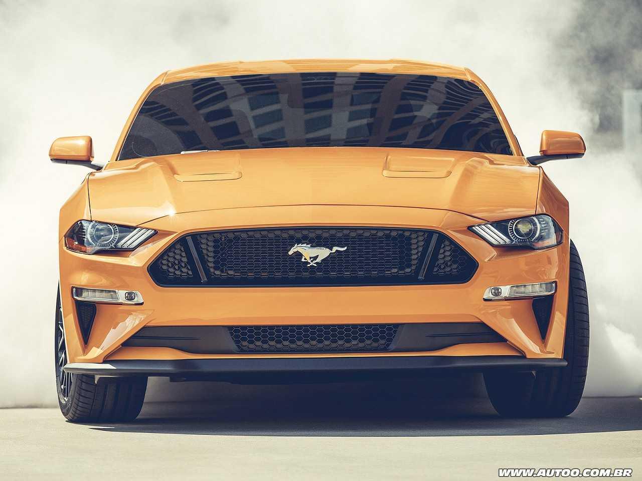 FordMustang 2018 - frente