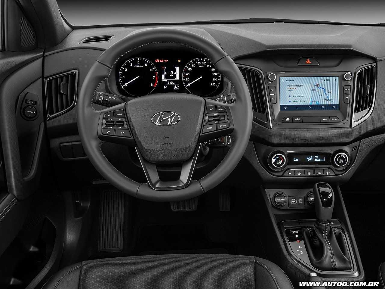 HyundaiCreta 2018 - painel