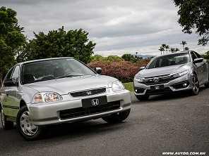 Honda Civic celebra 20 anos de produção no Brasil