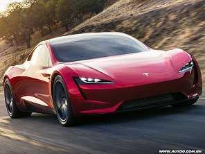 """Com """"foguetes"""", novo Tesla Roadster pode ser mais rápido que um carro de F1"""