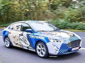 Nova geração do Ford Focus Sedan também vaza na internet