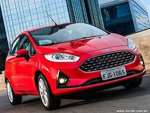 Ford Fiesta SEL ou um VW up! Pepper?