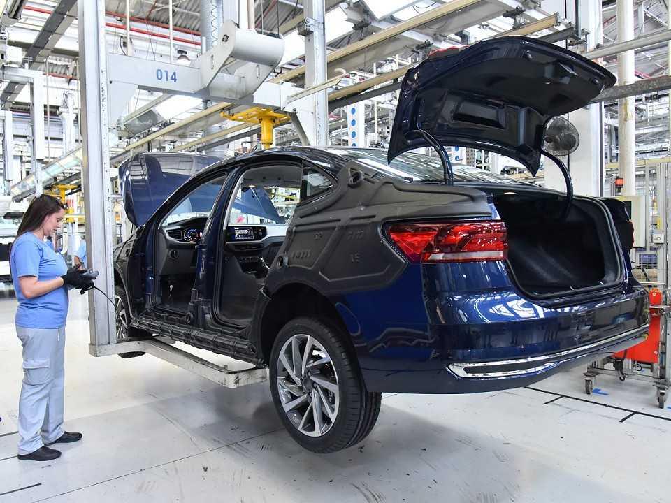 Volkswagen Virtus entra em produção na fábrica Anchieta