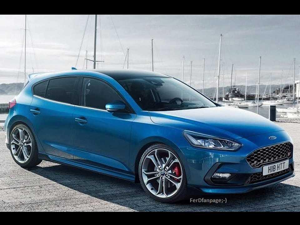 Nova geração do Ford Focus que vazou na internet