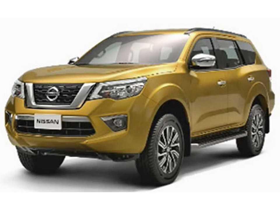 Nissan Paladin, o futuro SUV grande derivado da Frontier que será lançado no mercado asiático