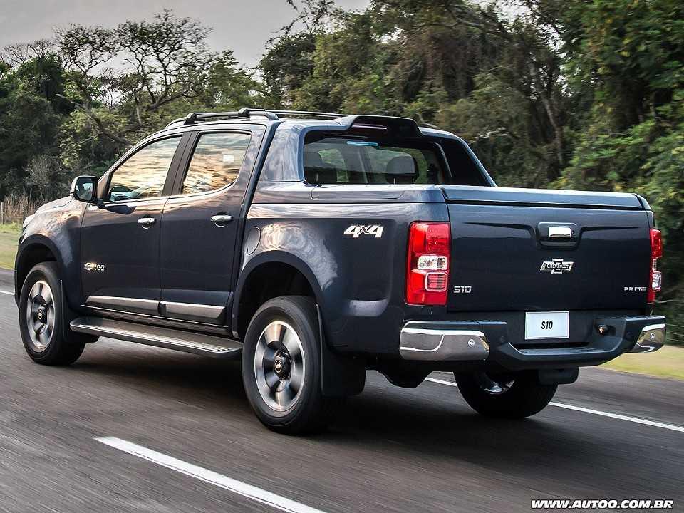 ChevroletS10 2018 - ângulo traseiro