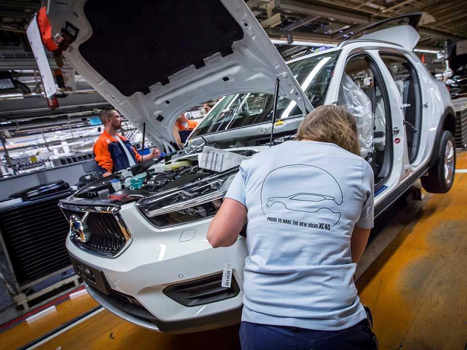 Produção do Volvo CX40 começa