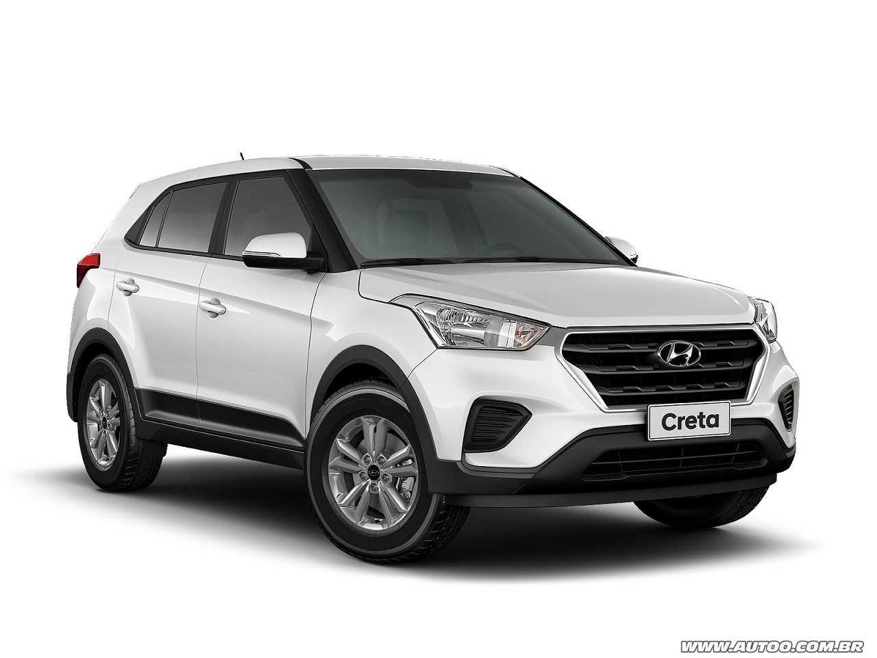 HyundaiCreta 2018 - ângulo frontal