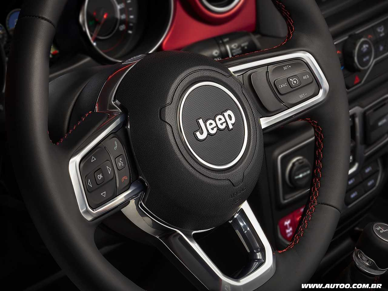 JeepWrangler 2018 - volante