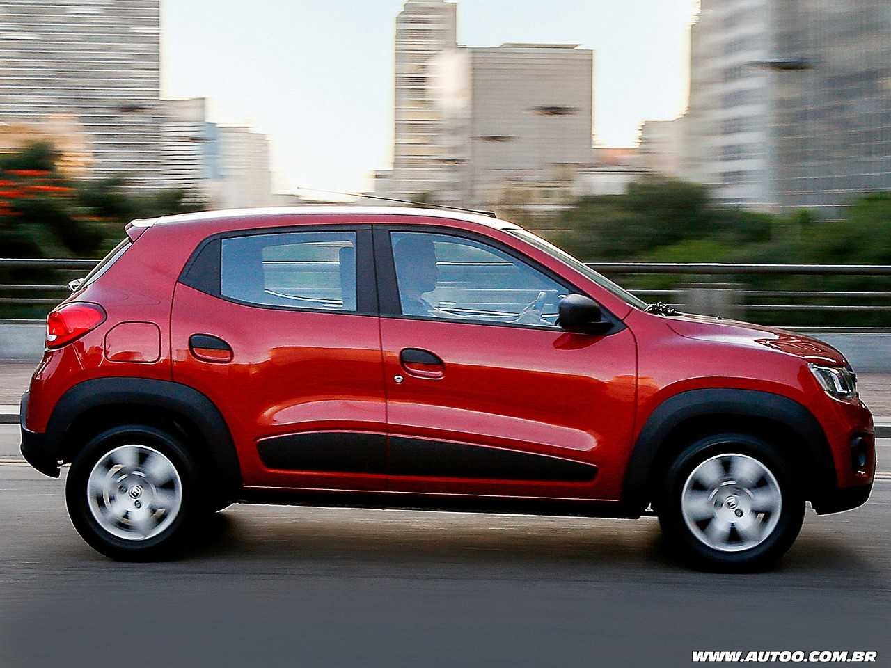 RenaultKwid 2018 - lateral
