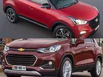 Hyundai Creta Sport e Chevrolet Tracker Premier